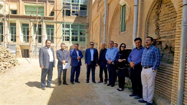 بازدید مدیرعامل صندوق احیا از بناهای تاریخی استان لرستان