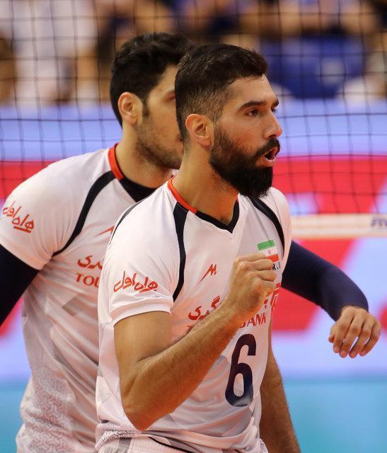 موسوی امتیازآورترین بازیکن ایران در دیدار با پورتوریکو