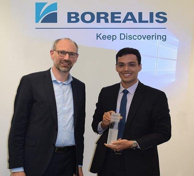 اعطای جایزه بین المللی نوآوری پلی الفین ها به دانشجوی دانشگاه امیرکبیر