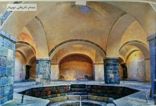 مرمت حمام تاریخی عجبشیر رو به اتمام است