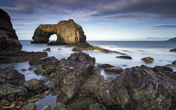 باشکوه ترین طاق های صخره ای دریایی در دنیا