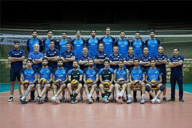 تیم ملی والیبال ایران سومین تیم جوان در لیگ ملت ها است