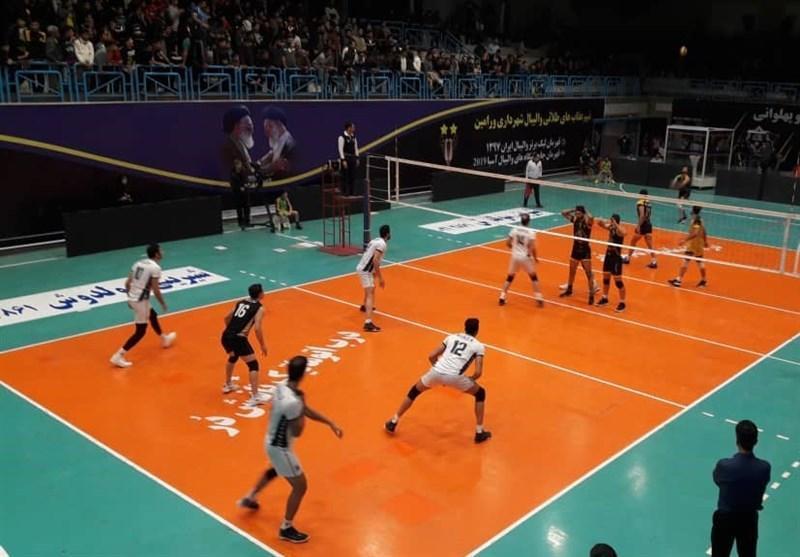 لیگ برتر والیبال، ورامین در صدر باقی ماند، پیروزی سخت سایپا در یزد