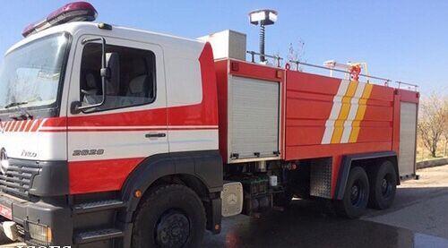 بهبود ناوگان آتش نشانی در زاگرس جنوبی