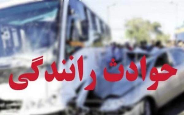 5 مصدوم در سانحه رانندگی در محور اهر-تبریز